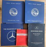 Very Rare Mercedes-Benz 300 SL Manuals etc