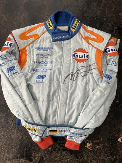 Heinz-Harald Frentzen Signed Race Overalls