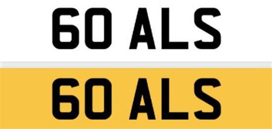 Registration Number 60 ALS