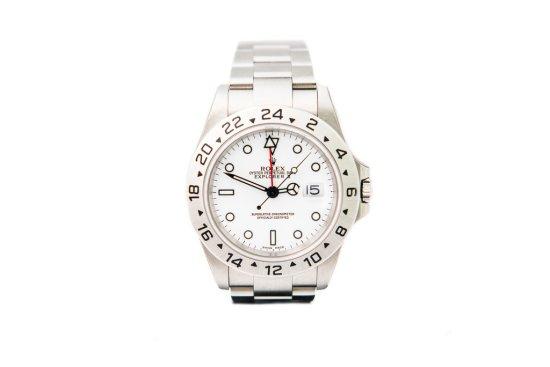 Rolex Explorer 2 16570 in 'timewarp' condition