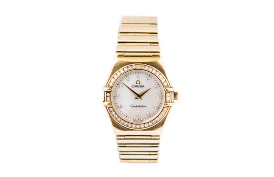Omega Constellation 'My Choice' Cindy Crawford 18ct gold and diamond