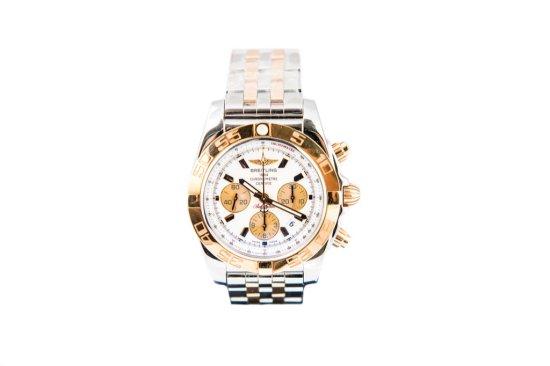 2013 Breitling Chronomat Bi-Metal Chronograph on Pilot bracelet