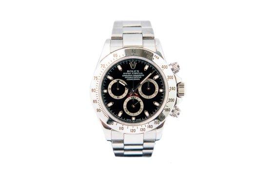 2005 Rolex Daytona Cosmograph Black Dial