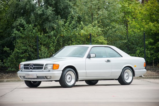 1986 Mercedes-Benz 560 SEC - 38,000 kms