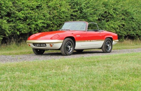 1971 Lotus Elan Sprint DHC