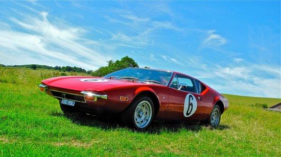 1971 De Tomaso Pantera 'Pulsante' - The Hawaii 5-0 Car