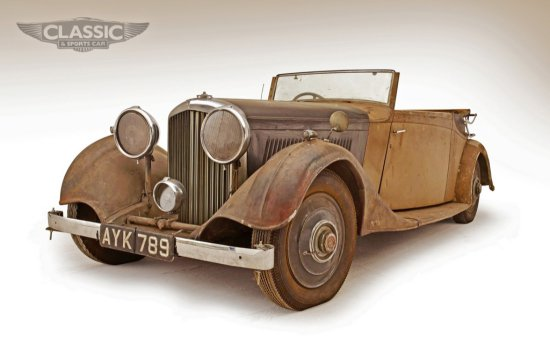 1934 Bentley 3 1/2 Litre Three Position Drophead Coupe by Thrupp & Maberly