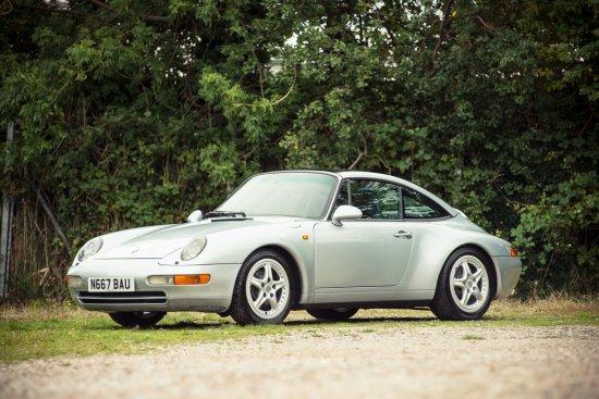 1996 Porsche 911 (993) C2 Targa
