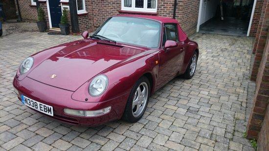 1996 Porsche 911 (993) C4 Cabriolet