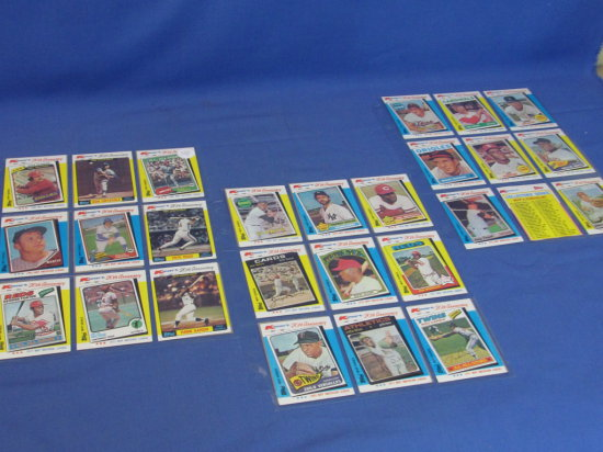 Kmart 20th Anniversary 44 Baseball Card Set Complete 1982 Topps