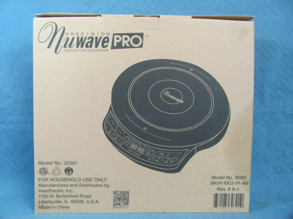 NuWave Pro Precision Induction Induction Cooktop PIC Model 30301 ...