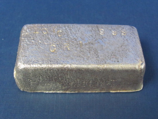 10 Troy oz Bar of Silver - Weights 309 Grams