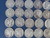 60 Mercury Dimes Various Dates - 146 Grams Image 4