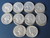 Roll of $10 Silver Quarters - 37 1960's, One 1941, One 1942 and One 1958 - Weights 250 Grams Image 2
