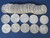 $10 Roll of Silver Quarters 1960 - 1964 Dates - Weights 250 Grams Image 2