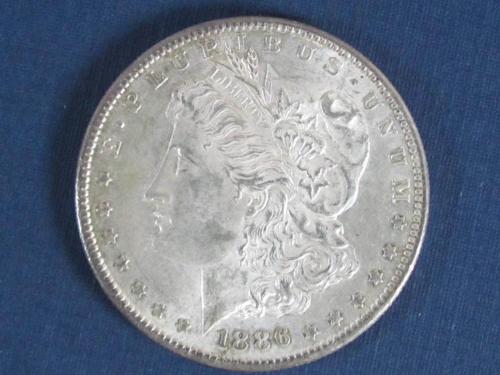 1886-S Morgan Silver Dollar - 26.7 Grams