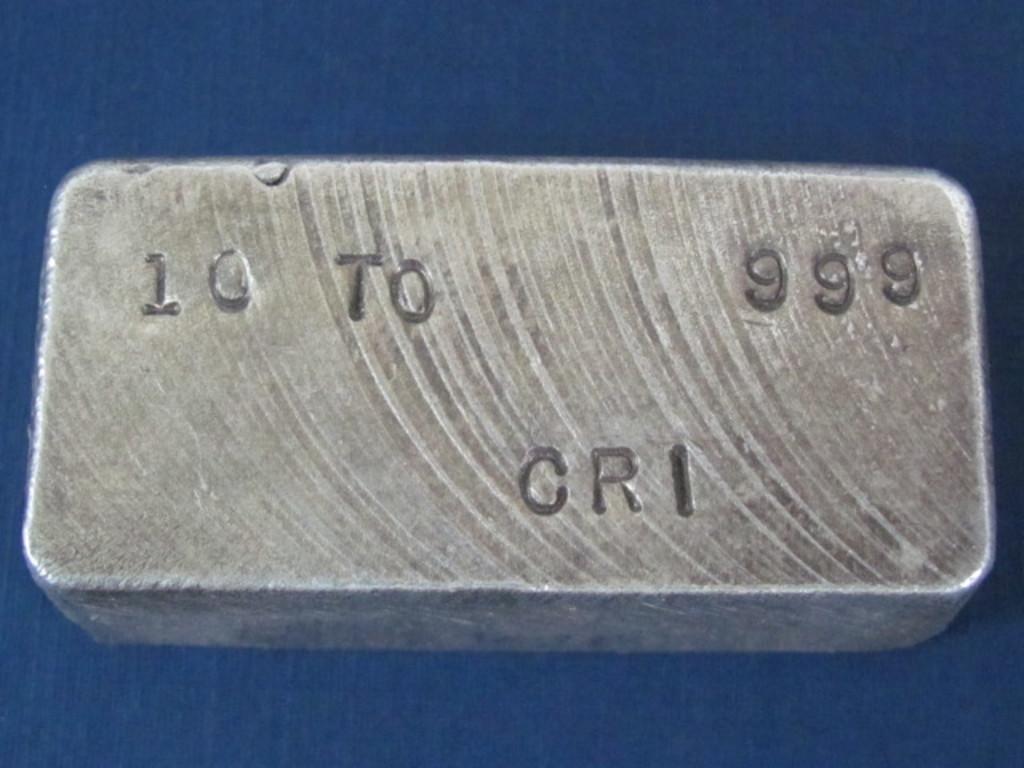 10 Troy oz Bar of Silver