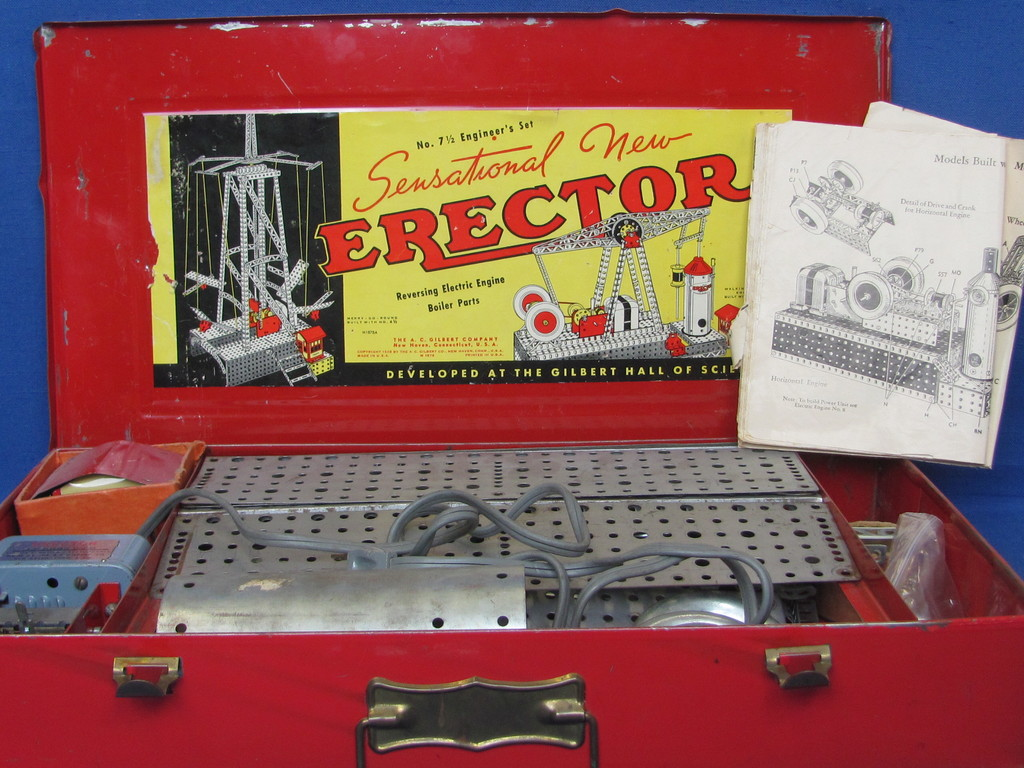 Gilbert Erector Set 8211 Co Auctions Online Proxibid