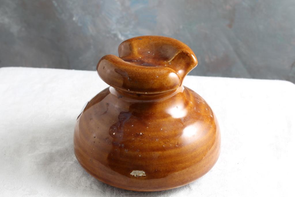 Lot: Antique LAPP 6184 Porcelain Insulator 5