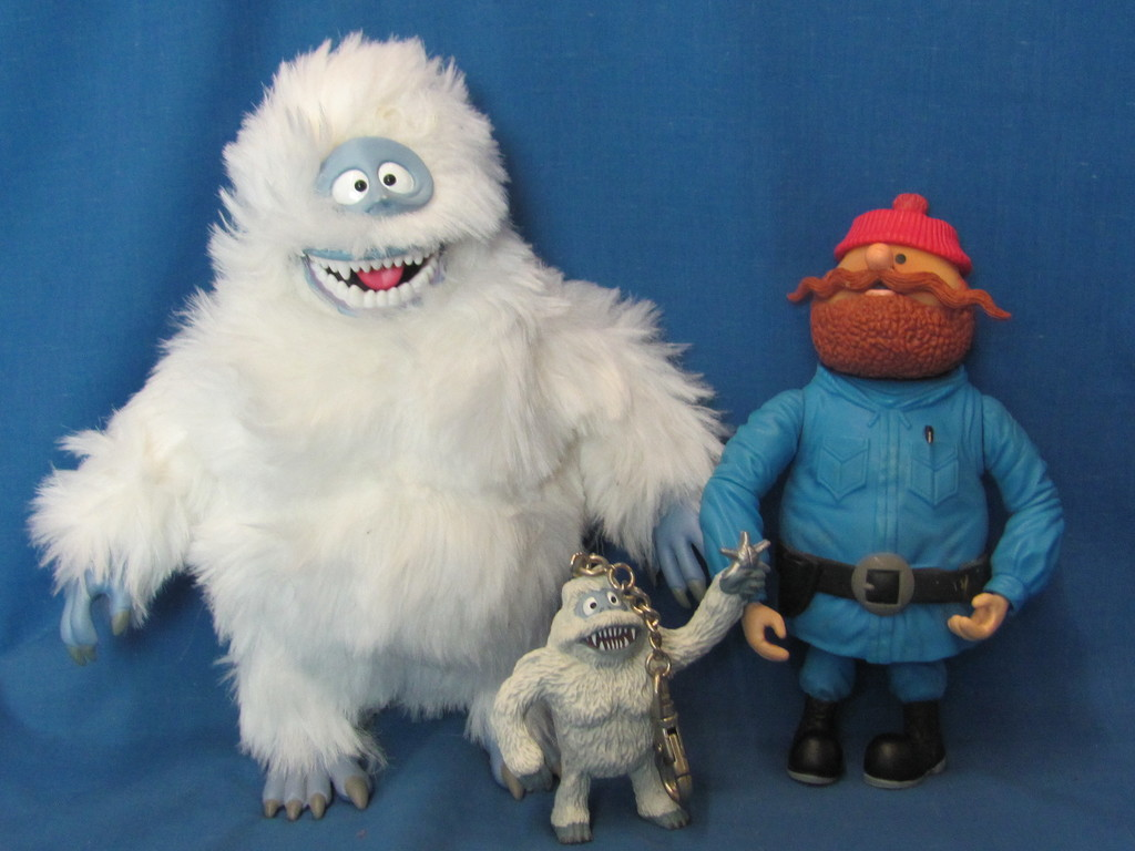 Rudolph The Red Nose Reindeer Characters Yukon Cornelius Bumble Missing Gun Art Antiques Collectibles Toys Hobbies Tv Movie Character Toys Online Auctions Proxibid