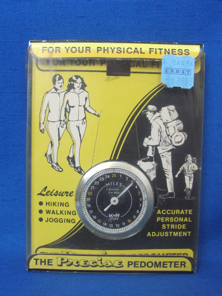 Vintage Pedometer – New in Package – Made in Germany – Printed in West Germany