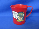 1950's Ovaltine Captain Midnight Plastic Cup