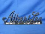 Metal Sign – Gateway to 10,000 Lakes – Albert Lea Minnesota
