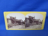 Leigh Valley Railroad Stereoview Card