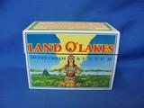 Land O' Lakes Metal Recipe Box With Recipes – Minneapolis Minnesota
