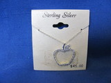 Sterling Silver Apple Necklace – 2 Grams