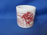 1950's Davy Crockett Hazel Atlas Cup
