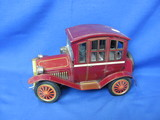 Antique Battery Operated Car – Not Tested – Missing Lantern Light
