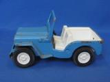 "Tonka Blue & White Jeep – 6"" long"