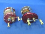2 Fishing Reels: Langley Lurecast Model 330 – Sears Roebuck Model 535.39660