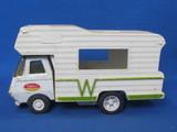 "Vintage Tonka Winnebago Camper Truck – 6 1/4"" long – Missing back"