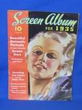 Screen Album for 1935 – Photos & Profiles of Movie Stars