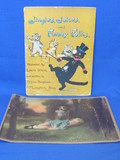 """Jingles, Jokes & Funny Folks"" Vintage Children's Book & ""Safely Guarded"" Print"