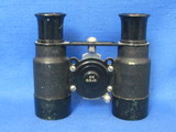 "Small Pair of Vintage Binoculars – Marked 6X – 3 1/4"" long – 1 Lens has some scratching or condensat"
