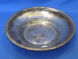 "Sterling Silver Bowl – 8 1/4"" in diameter – Weight is 158.8 grams"