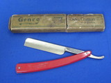 """Red Imp"" Straight Razor with Genco Case – Marked ""Made in USA by Case"""