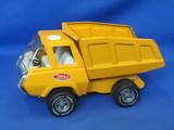 "Tonka Dump Truck – 8 3/4"" long – Some minor paint loss & wear"