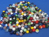Mixed Lot of 200+ Glass Marbles – A couple of Shooters