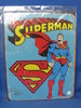 """New Metal/Tin Sign """"Superman"""" - 16"""" x 12 1/2"""" - In sealed package"""