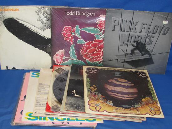Lot Of 20 Classic Rock/Metal Vinyl Records