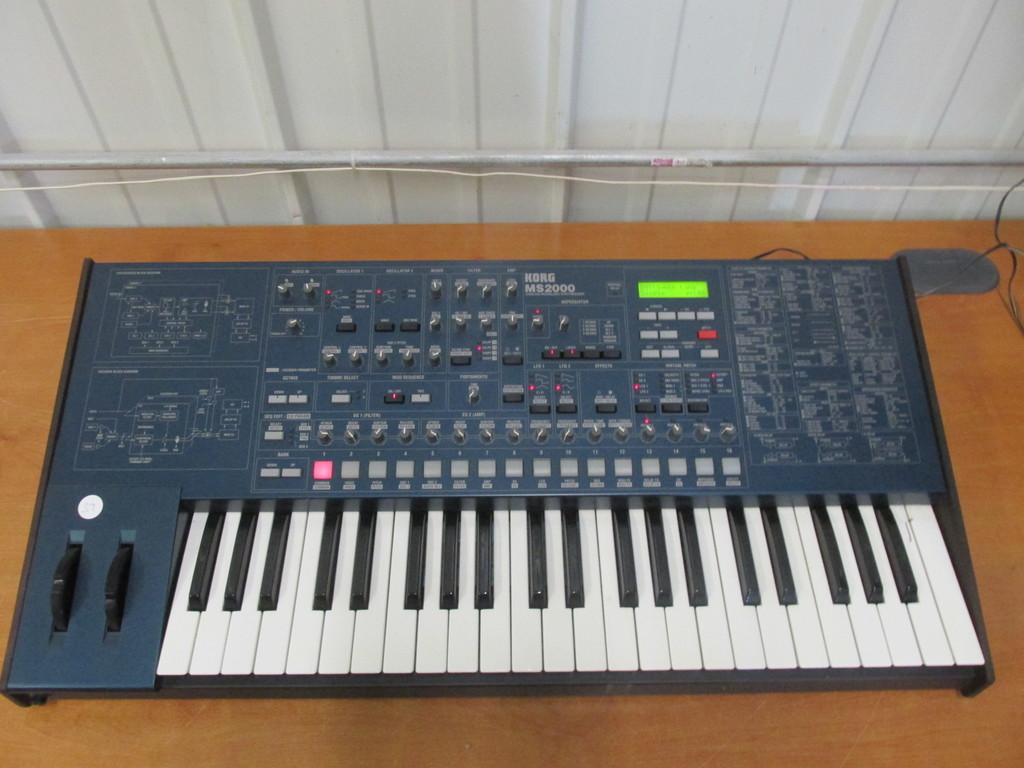 Korg MS2000 Analog Modeling Synthesizer – Tested And Works Great Condition -
