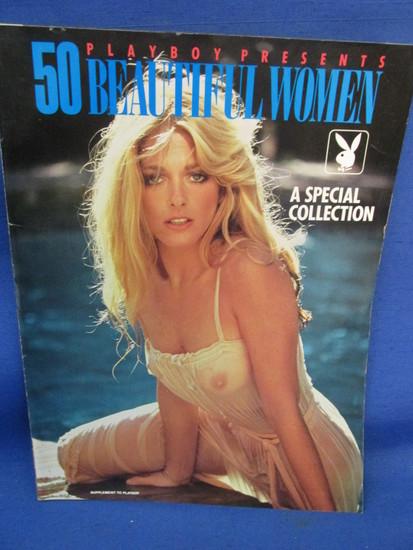 Playboy Supplement to Magazine – 50 Beautiful Women – Farrah Faucett – Marilyn Monroe