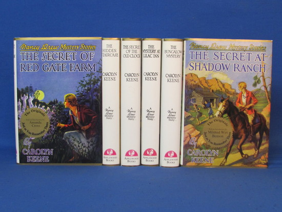 6 Hardcover Books – 1994 Facsimile Edition Nancy Drew Mysteries from the 30s