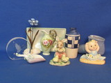 Mixed Lot of Small Knick Knacks & Decor – Vase, Porcelain, Pottery Shoe & more