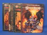 4 Dungeons & Dragons Books: Dragon Lance, Book of Artifacts, Player's Handbook