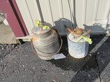 Oatman Pail & 1 gallon Gas Can – Something in Oatman pail, couldn't open it